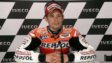 Assen 2011 - MotoGP - QP - Interview - Casey Stoner