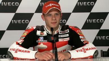 Assen 2011 - Moto2 - QP - Interview - Stefan Bradl