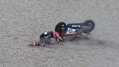 Assen 2011 - Moto2 - QP - Action - Axel Pons - Crash