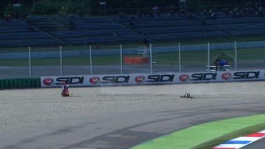 Assen 2011 - MotoGP - FP2 - Action - Hiroshi Aoyama - Crash