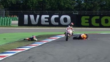 Assen 2011 - MotoGP - FP2 - Action - Andrea Dovizioso - Crash