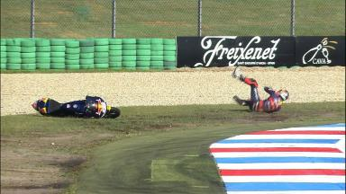 Assen 2011 - 125cc - FP2 - Action - Jonas Folger - Crash