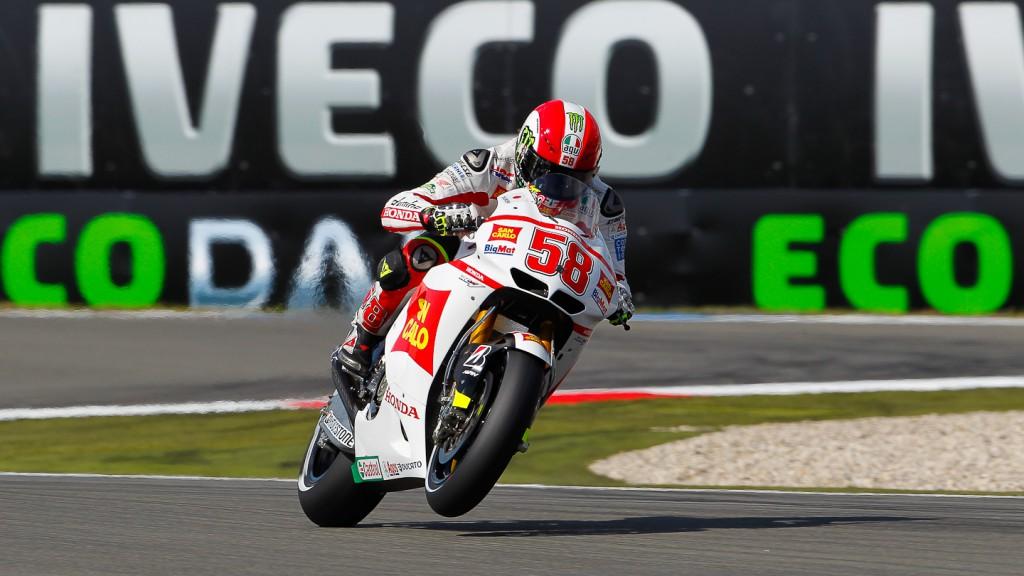 Marco Simoncelli, San Carlo Honda Gresini, Assen FP2
