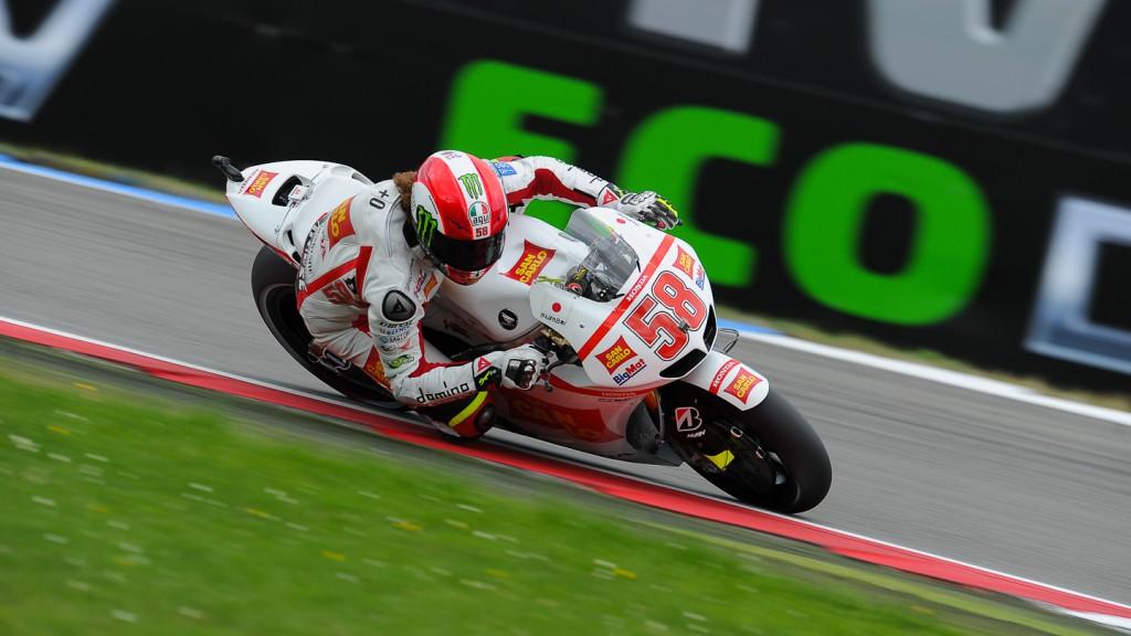 Marco Simoncelli, San Carlo Honda Gresini, Assen QP