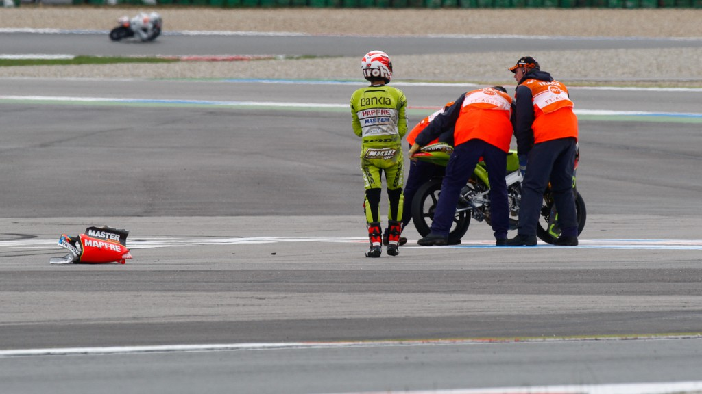 Nico Terol, Bankia Aspar Team 125cc, Assen QP - © David Clares
