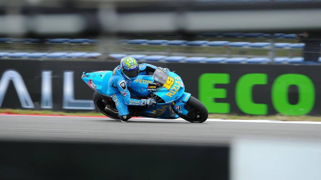 Alvaro Bautista, Rizla Suzuki MotoGP, Assen RAC