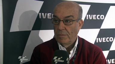 Dorna CEO Carmelo Ezpeleta on IRTA contract renewal