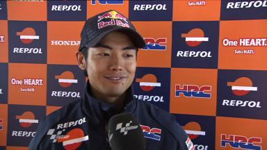 Aoyama discusses Repsol Honda experience