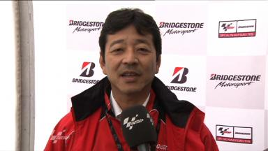 Yamada on Bridgestone Assen performance