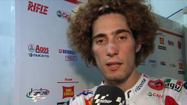 Simoncelli discusses Assen race events