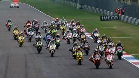 Marquez took his second victory of his Moto2 debut season in tricky conditions at the Iveco TT Assen, for round 7 of the 2011 World Championship, ahead of Kenan Sofuoglu and Bradley Smith.