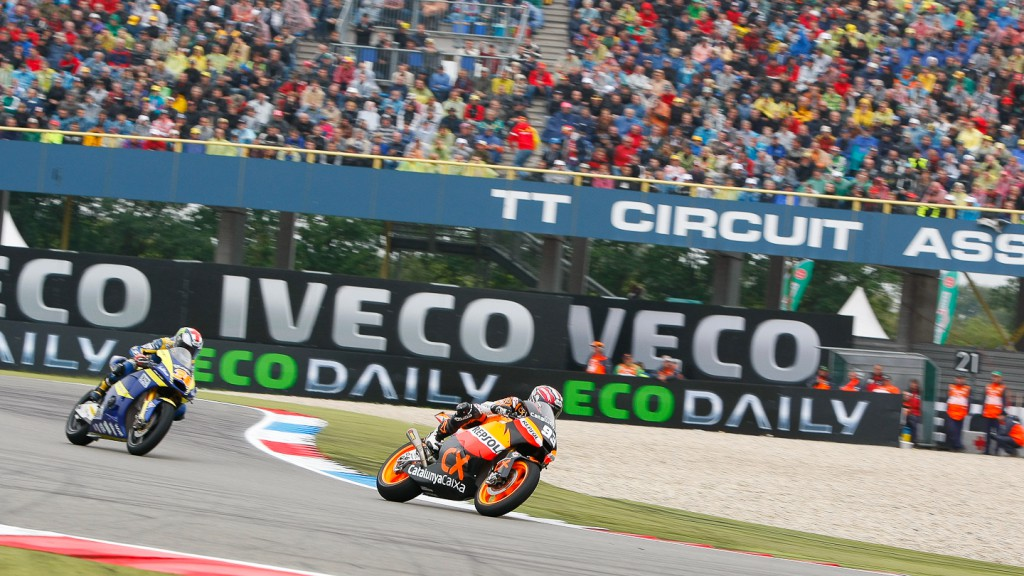 Marc Marquez, Bradley Smith, Team CatalunyaCaixa Repsol, Tech 3 Racing, Assen RAC