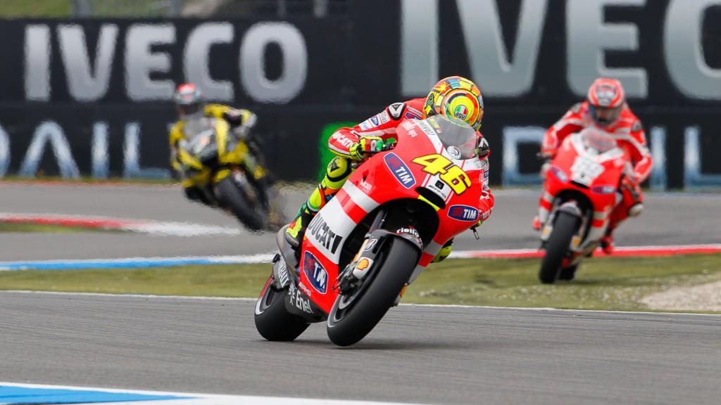 Valentino Rossi, Ducati Team, Assen RAC