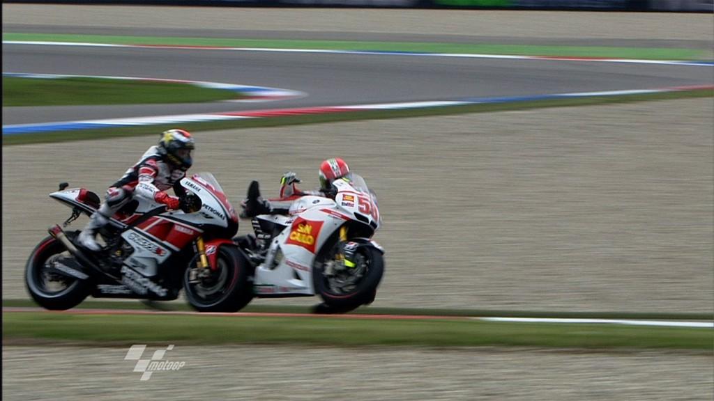 Jorge Lorenzo, Yamaha Factory Racing - Marco Simoncelli, San Carlo Honda Gresini
