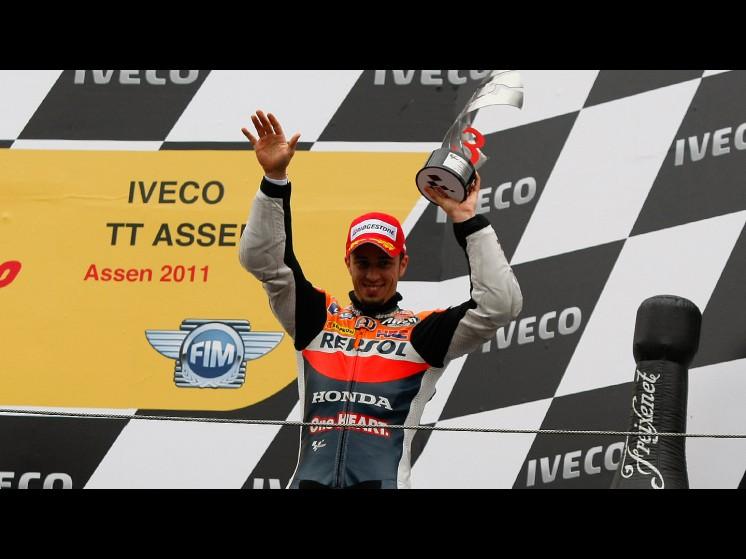 -Moto GP- Season 2011- - andrea dovizioso podium slideshow