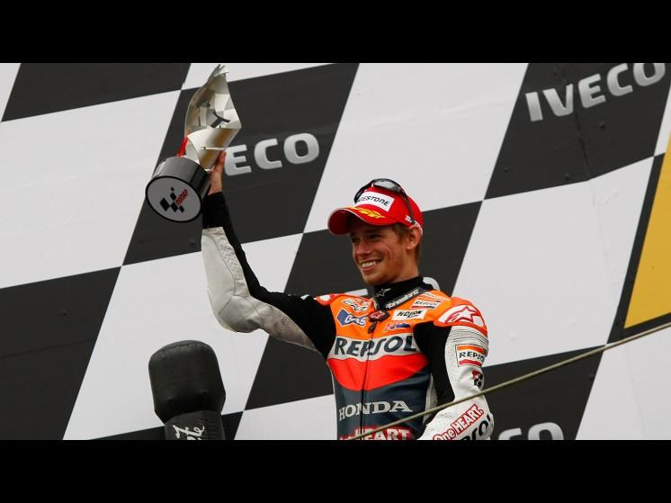 -Moto GP- Season 2011- - casey stoner podium 01 slideshow