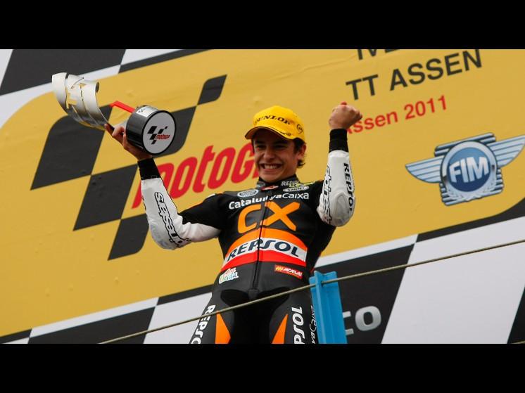 -Moto GP- Season 2011- - marc marquez podium slideshow