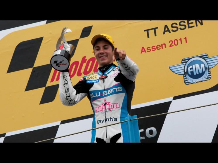 -Moto GP- Season 2011- - maverick vinales podium 01 slideshow