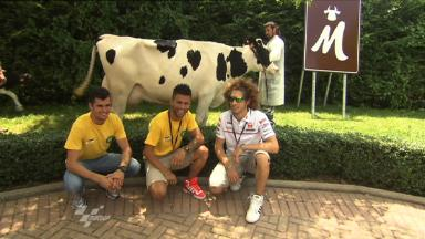 Riders enjoy Mugello dairy pre-event