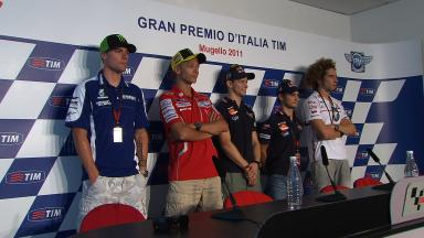 Gran Premio d´Italia TIM Pre-event Press Conference