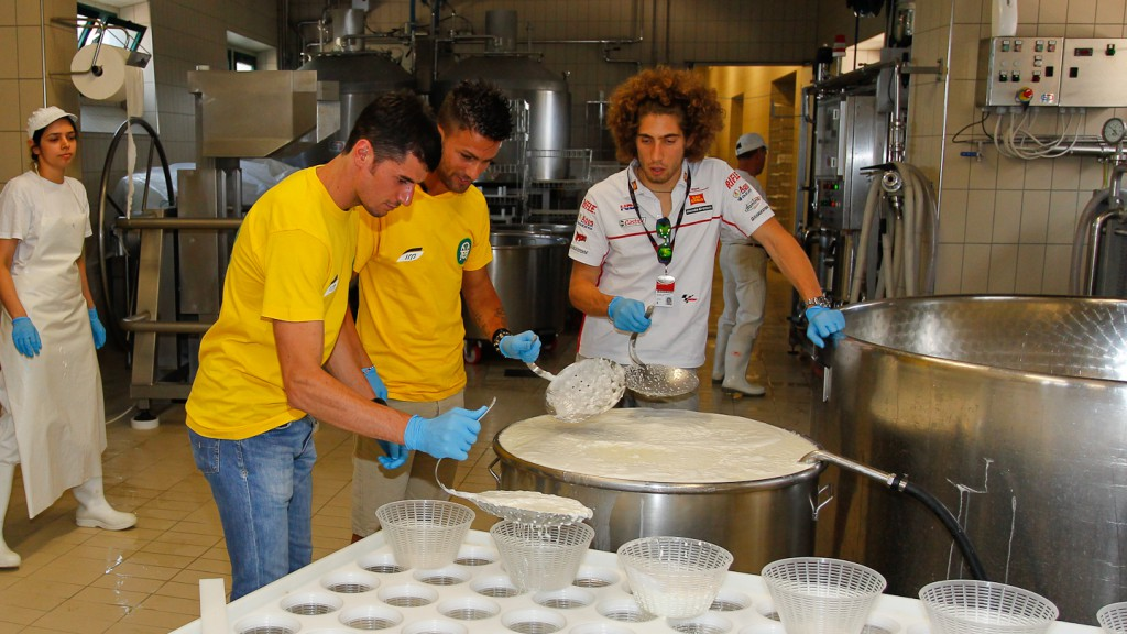 Marco Simoncelli, Simone Corsi, Mattia Pasini, San Carlo Honda Gresini, Ioda Racing Project, Il Palagiaccio