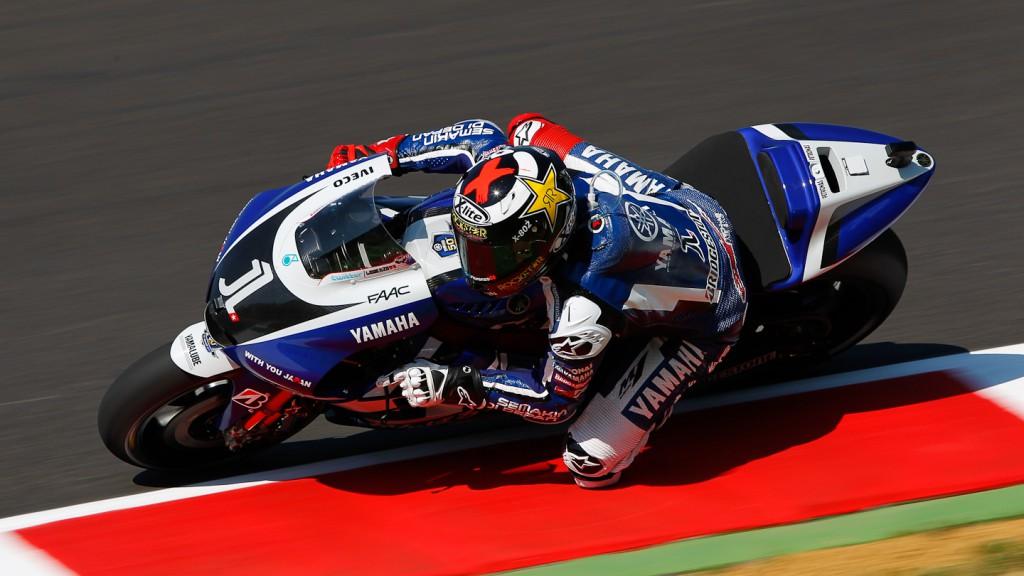 Jorge Lorenzo, Yamaha Factory Racing, Mugello FP1