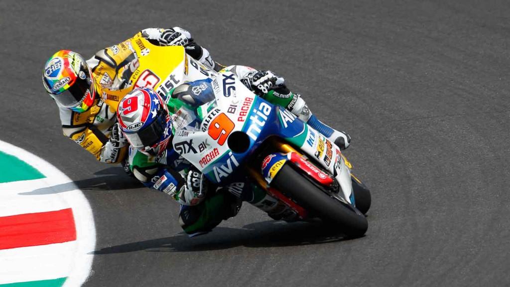 Kenny Noyes, Alex de Angelis, Avintia-STX, JiR Moto2, Mugello FP2