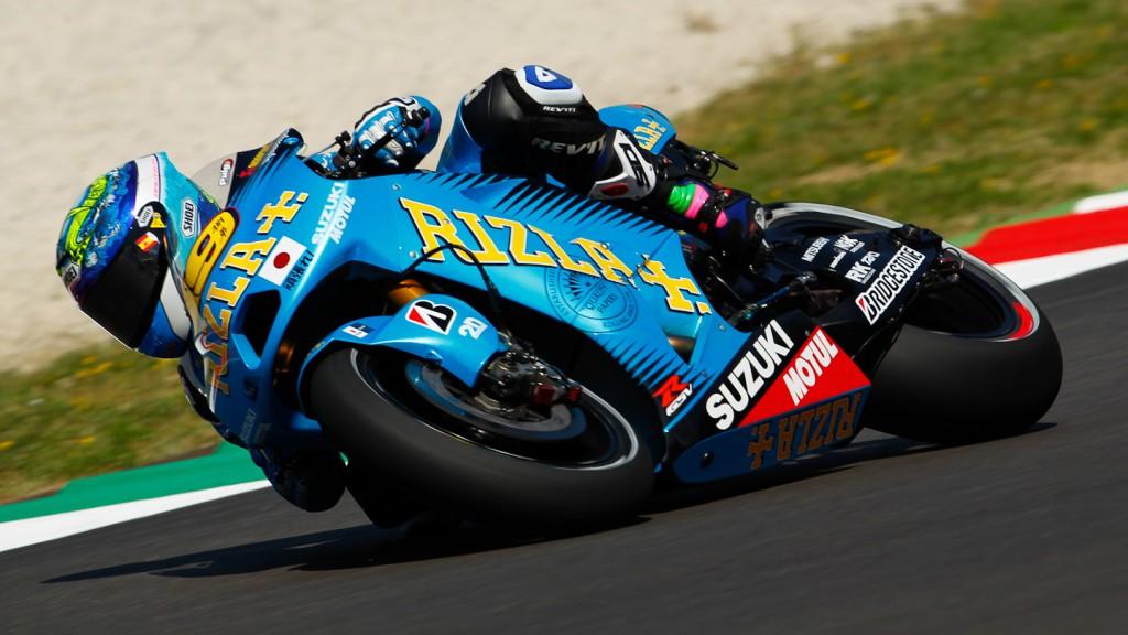 Alvaro Bautista, Rizla Suzuki MotoGP, Mugello FP1