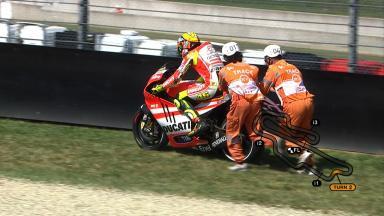 Mugello 2011 - MotoGP - FP1 - Action - Valentino Rossi
