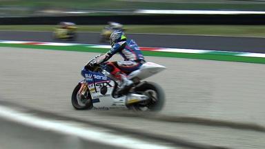 Mugello 2011 - Moto2 - FP1 - Action - Yonny Hernández