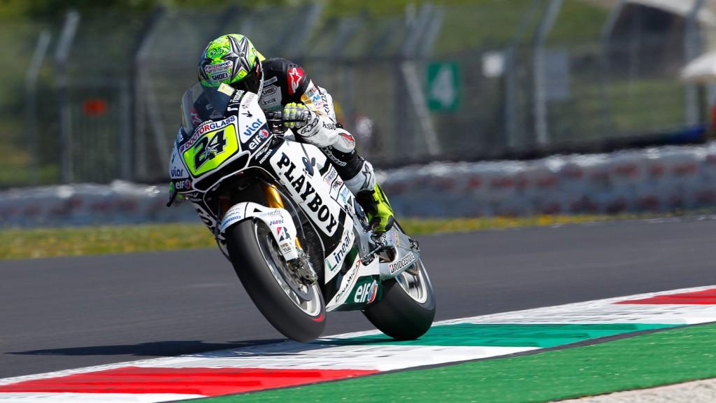 Toni Elias, LCR Honda MotoGP, Mugello FP1