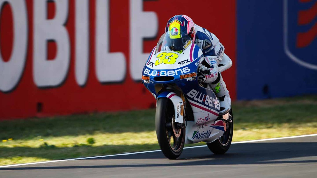 Sergio Gadea, Blusens by Paris Hilton Racing, Mugello FP2