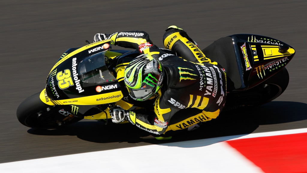 Cal Crutchlow, Monster Yamaha Tech 3, Mugello FP1