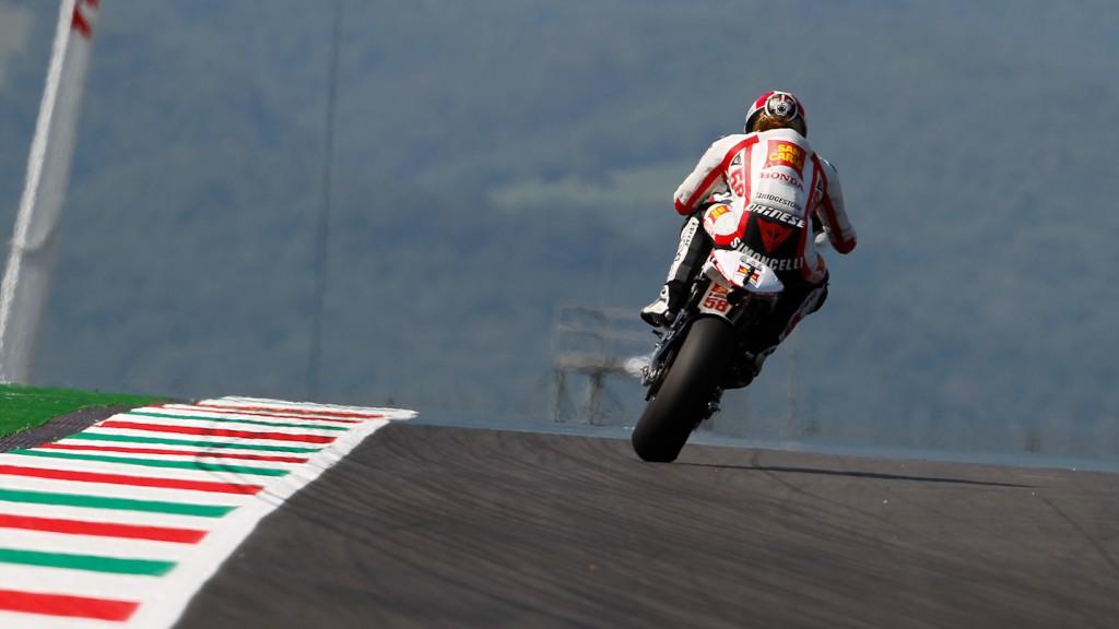 Marco Simoncelli, San Carlo Honda Gresini, Mugello FP1