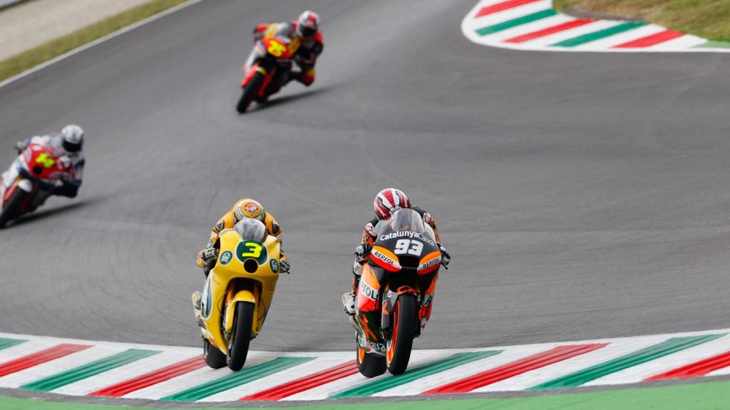 Marc Marquez, Simone Corsi, Team Catalunya Caixa Repsol, Ioda Racing Project, Mugello QP
