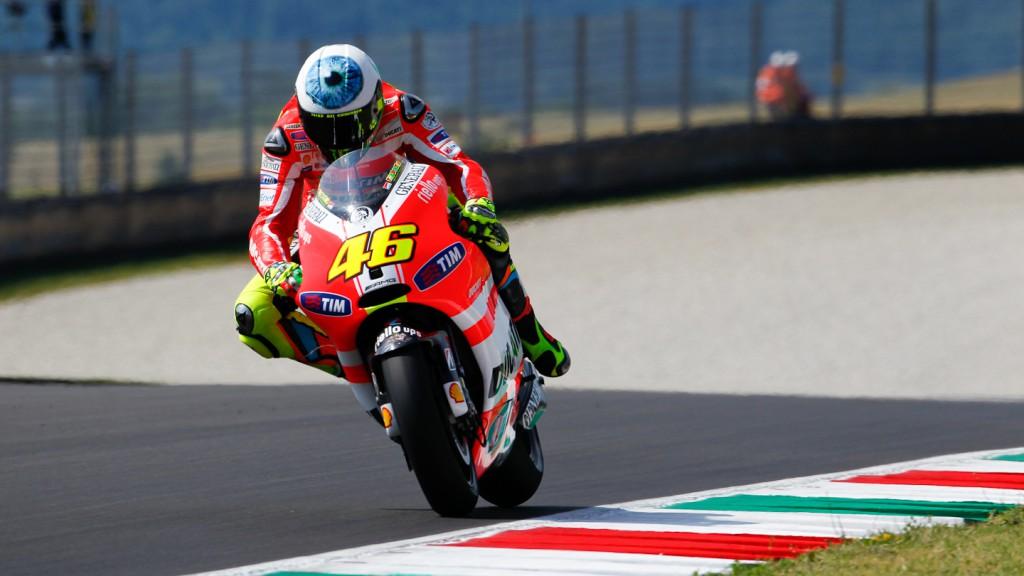 Valentino Rossi, Ducati Team, Mugello FP3