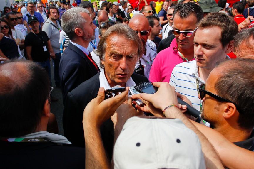 Luca Cordero di Montezemolo, Chairman of Ferrari S.p.A, Mugello