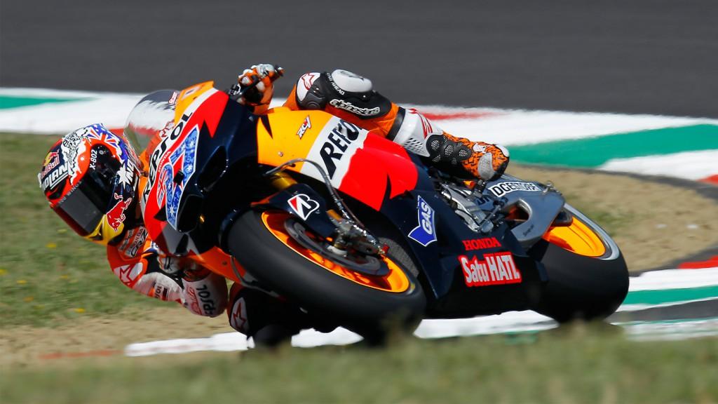 Casey Stoner, Repsol Honda Team, Mugello QP