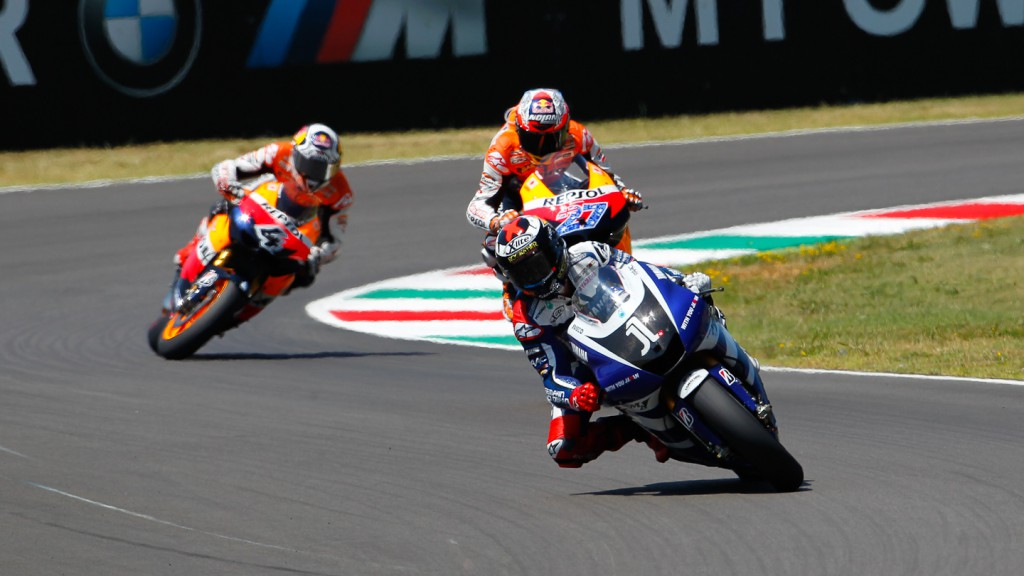 Jorge Lorenzo, Casey Stoner, Andrea Dovizioso, Yamaha Factory Racing, Repsol Honda Team, Mugello RAC