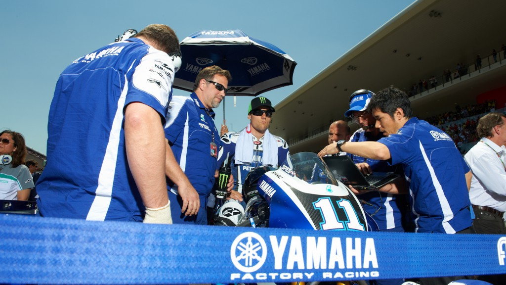 Ben Spies, Yamaha Factory Racing, Mugello RAC - © Copyright Alex Chailan & David Piolé