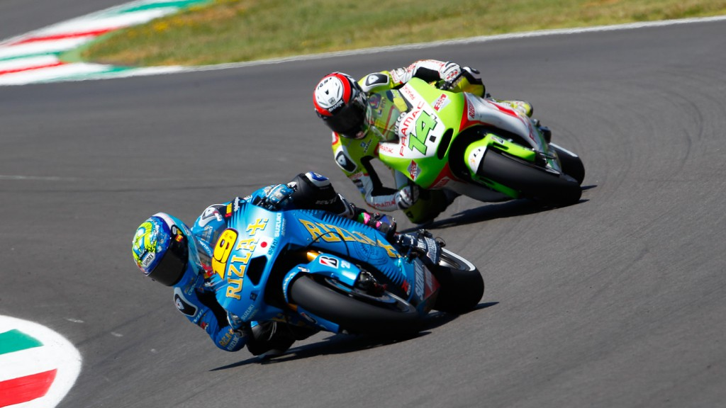 Alvaro Bautista, Randy de Puniet, Rizla Suzuki MotoGP, Pramac Racing Team, Mugello RAC