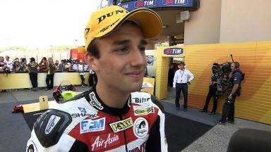 Mugello 2011 - 125cc - Race - Interview - Johan Zarco