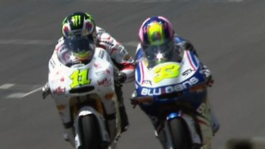 Mugello 2011 - 125cc - Race - Action - Cortese and Gadea