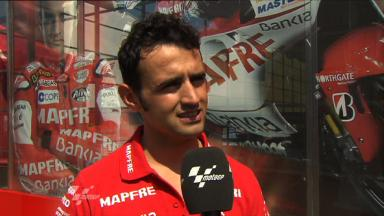 Mugello 2011 - MotoGP - Race - Interview - Héctor Barberá