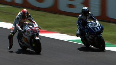 Mugello 2011 - MotoGP - Race - Action - Simoncelli and Spies