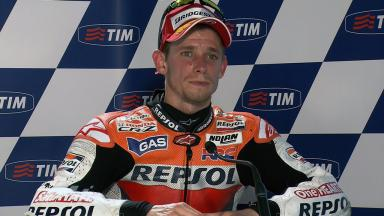 Mugello 2011 - MotoGP - Race - Interview - Casey Stoner