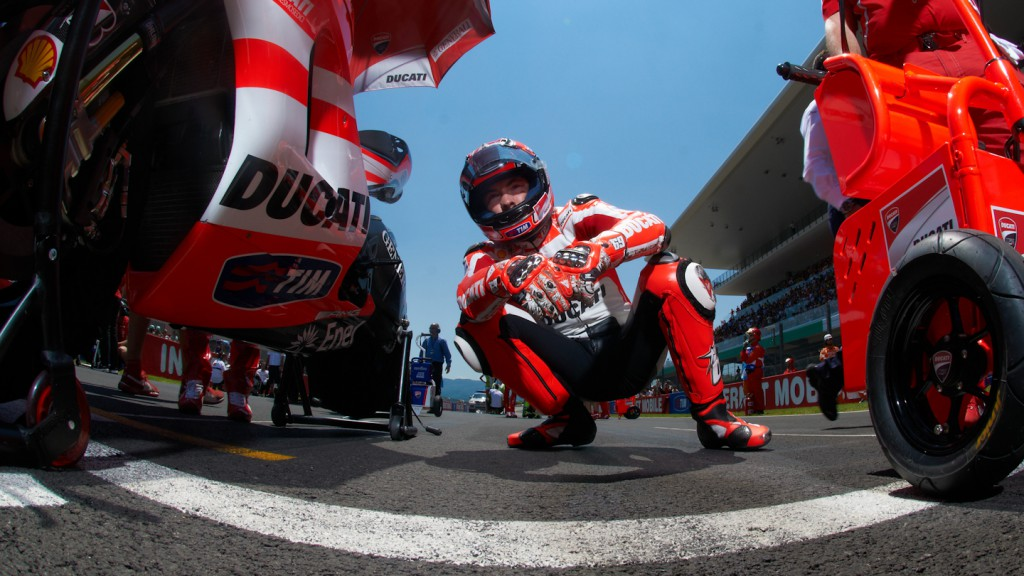 Nicky Hayden, Ducati Team, Mugello RAC - © Copyright Alex Chailan & David Piolé