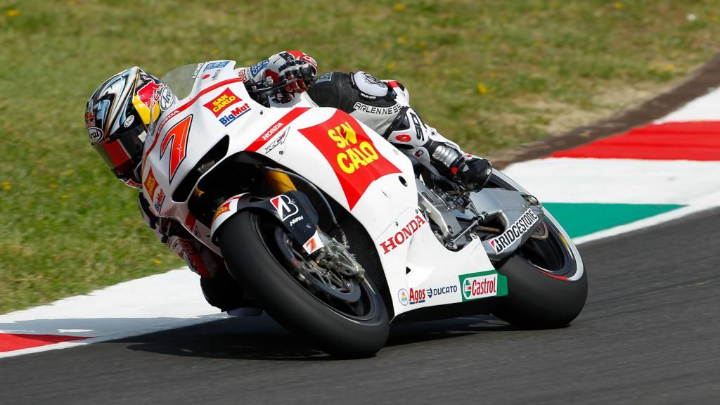 Hiroshi Aoyama, San Carlo Honda Gresini, Test Mugello