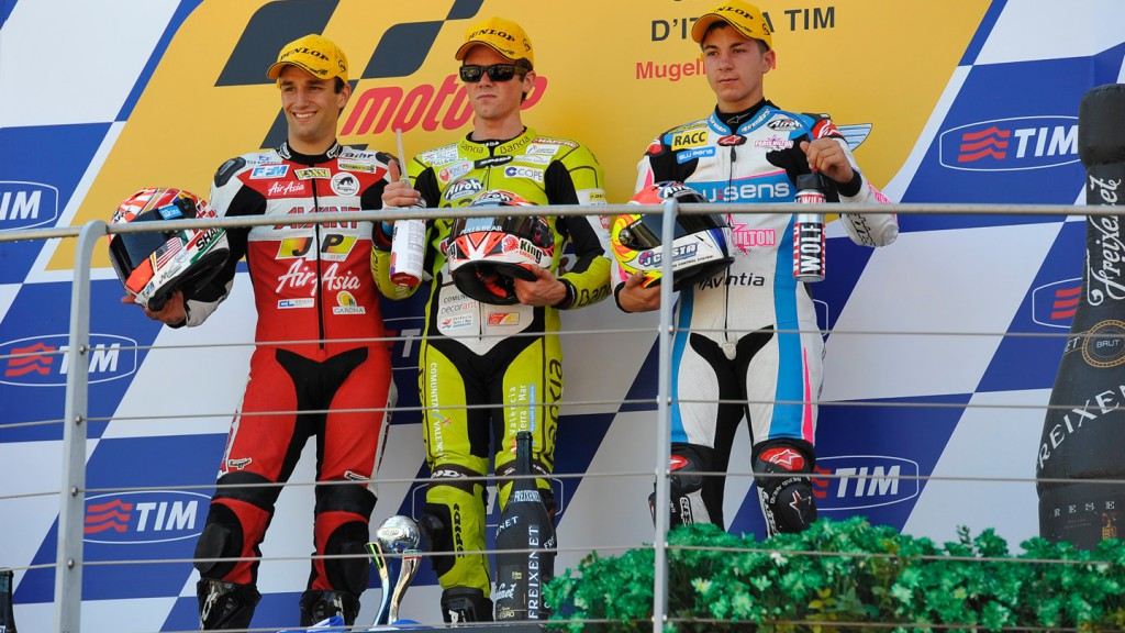 Zarco, Terol, Viñales, Avant-AirAsia-Ajo, Bankia Aspar Team 125cc, Blusens by Paris Hilton Racing, Mugello RAC