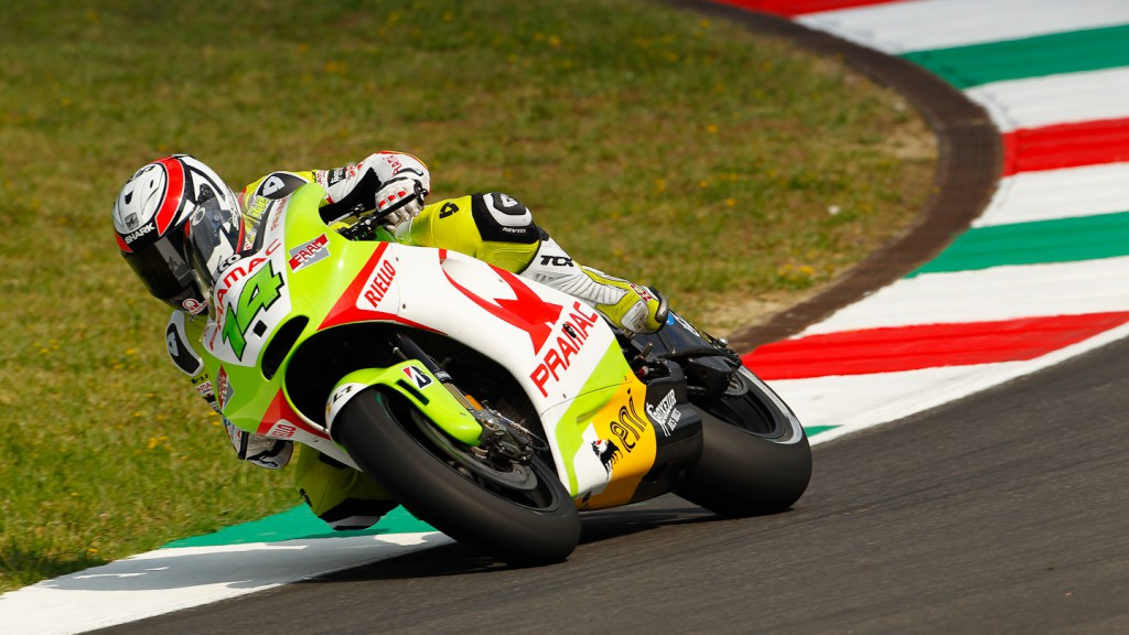 Randy de Puniet, Pramac Racing Team, Test Mugello